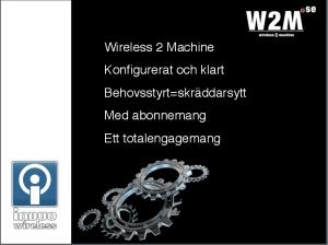 Radiomodem, SATELLAR, W2M