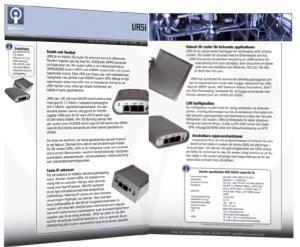 HSUPA-router UR5i