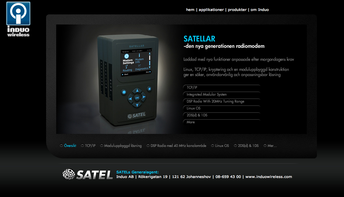 SATELLAR radiomodem, SATEL modem,